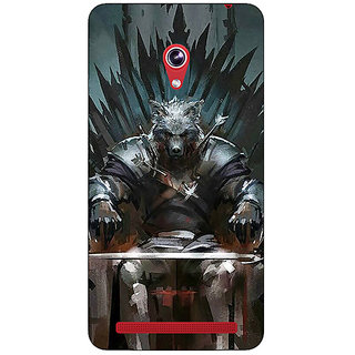 Enhance Your Phone Game Of Thrones GOT Iron Throne King Of The North Back Cover Case For Asus Zenfone 6 600CG