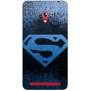 Enhance Your Phone Superheroes Superman Back Cover Case For Asus Zenfone 6 601CG