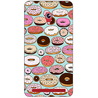 Enhance Your Phone Donut Love Back Cover Case For Asus Zenfone 6 601CG