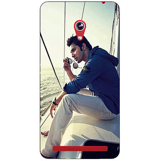 Enhance Your Phone Bollywood Superstar Varun Dhawan Back Cover Case For Asus Zenfone 6 601CG