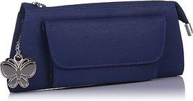 Butterflies Womens Designer  Blue Color Clutch BNS 2288