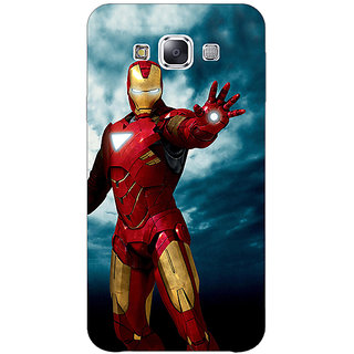 Enhance Your Phone Superheroes Ironman Back Cover Case For Samsung Grand Max