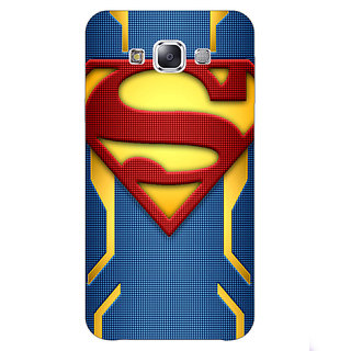 Enhance Your Phone Superheroes Superman Back Cover Case For Samsung Grand Max