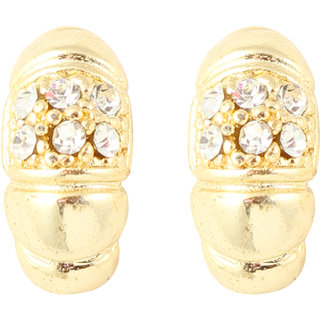 Touchstone Gold Plated Graceful Half Bali FGETA115-01A--Y