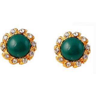 Touchstone Elegant Gold Plated Earrings PWETL014-01AE-Y