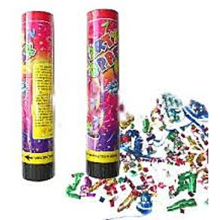 Party Poppers -set of 5
