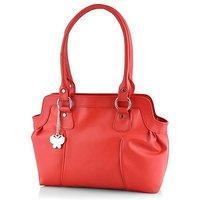 Butterflies Red Handbag