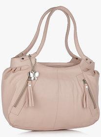 Butterflies Peach Handbag