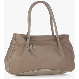 Butterflies Mouse Grey Shoulder Bag