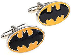 Yellow Batman Metal Cufflink
