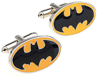 Yellow Batman Metal Cufflink