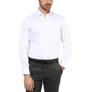 Cotton White Formal Shirt