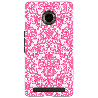 Enhance Your Phone Pretty Pink Back Cover Case For Micromax Yu Yuphoria