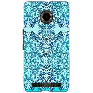 Enhance Your Phone Pattern  Back Cover Case For Micromax Yu Yuphoria