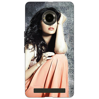 Enhance Your Phone Bollywood Superstar Parineeti Chopra Back Cover Case For Micromax Yu Yuphoria
