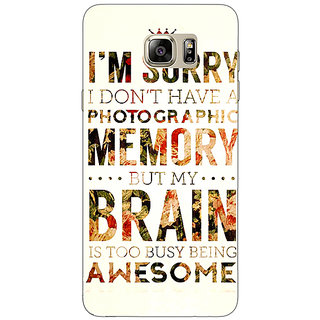 Enhance Your Phone SUITS Quotes Back Cover Case For Samsung S6 Edge+