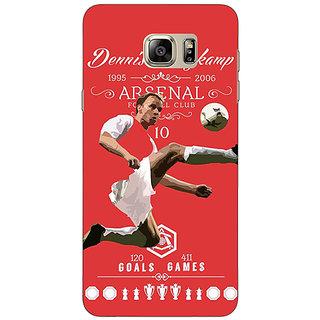 Enhance Your Phone Arsenal Dennis Bergkamp Back Cover Case For Samsung S6 Edge+