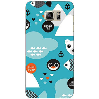 Enhance Your Phone Winter Pattern  Back Cover Case For Samsung S6 Edge+