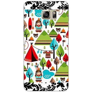 Enhance Your Phone Tribal Pattern  Back Cover Case For Samsung S6 Edge+