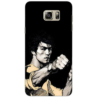 Enhance Your Phone Bruce Lee Back Cover Case For Samsung S6 Edge+