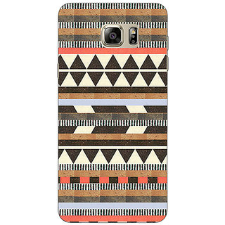 Enhance Your Phone Aztec Girly Tribal Back Cover Case For Samsung S6 Edge+