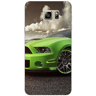 Enhance Your Phone Super Car Mustang Back Cover Case For Samsung S6 Edge+
