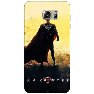 Enhance Your Phone Superheroes Superman Back Cover Case For Samsung S6 Edge+