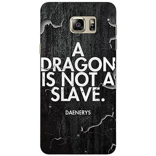 Enhance Your Phone Game Of Thrones GOT Targaryen Dragon Quote Back Cover Case For Samsung S6 Edge+