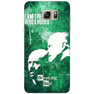 Enhance Your Phone Breaking Bad Heisenberg Back Cover Case For Samsung S6 Edge+
