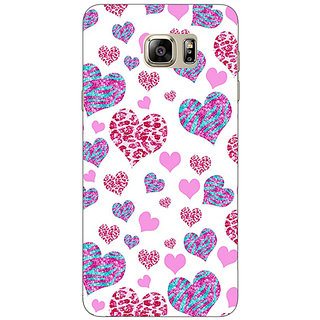 Enhance Your Phone Hearts Back Cover Case For Samsung S6 Edge+