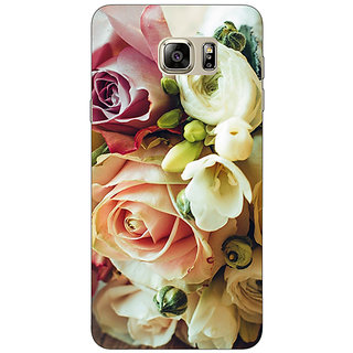 Enhance Your Phone Roses Back Cover Case For Samsung S6 Edge+