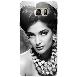 Enhance Your Phone Bollywood Superstar Sonam Kapoor Back Cover Case For Samsung S6 Edge+