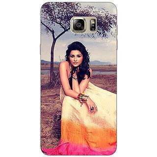 Enhance Your Phone Bollywood Superstar Parineeti Chopra Back Cover Case For Samsung S6 Edge+