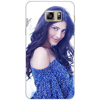 Enhance Your Phone Bollywood Superstar Shruti Hassan Back Cover Case For Samsung S6 Edge+
