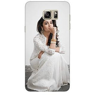 Enhance Your Phone Bollywood Superstar Alia Bhatt Back Cover Case For Samsung S6 Edge+