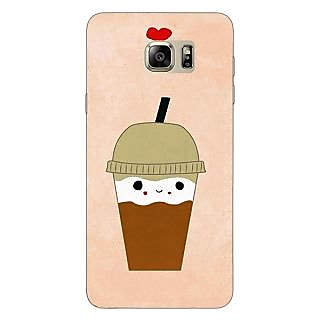 Enhance Your Phone Milkshake Love Back Cover Case For Samsung S6 Edge+