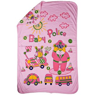 Love Baby Bath Towel 902 Egyption Cotton Regular Cartoon Print (Pink)