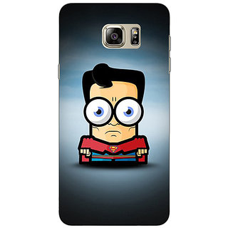 Enhance Your Phone Big Eyed Superheroes Superman Back Cover Case For Samsung Galaxy Note 5