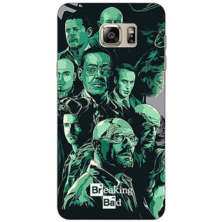 Enhance Your Phone Breaking Bad Heisenberg Back Cover Case For Samsung Galaxy Note 5