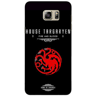 Enhance Your Phone Game Of Thrones GOT House Targaryen  Back Cover Case For Samsung Galaxy Note 5