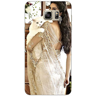 Enhance Your Phone Bollywood Superstar Sonam Kapoor Back Cover Case For Samsung Galaxy Note 5