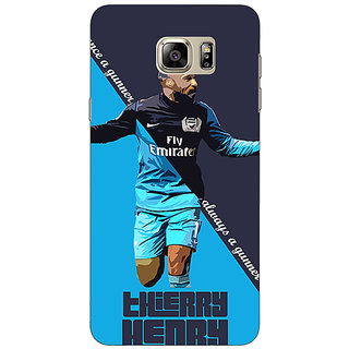 Enhance Your Phone Arsenal Therry Henry Back Cover Case For Samsung Galaxy Note 5