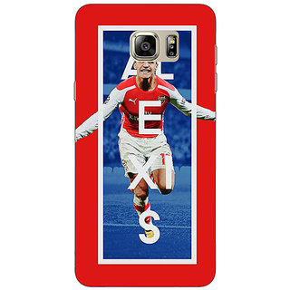 Enhance Your Phone Arsenal Alexis Sanchez Back Cover Case For Samsung Galaxy Note 5
