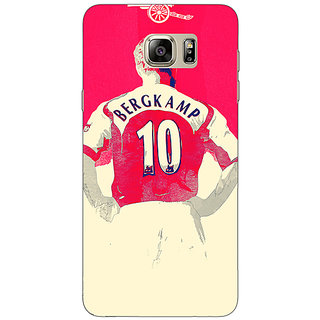 Enhance Your Phone Arsenal Dennis Bergkamp Back Cover Case For Samsung Galaxy Note 5