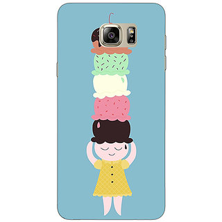 Enhance Your Phone Ice Cream Back Cover Case For Samsung Galaxy Note 5