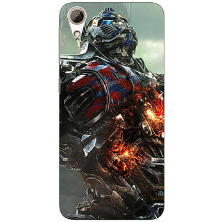 Enhance Your Phone Transformers Optimus Prime Back Cover Case For HTC Desire 626