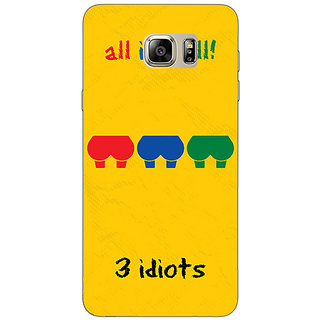Enhance Your Phone Bollywood Superstar Three Idiots Back Cover Case For Samsung Galaxy Note 5