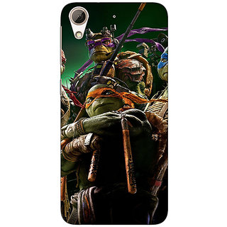 Enhance Your Phone Ninja Turtles Back Cover Case For HTC Desire 626