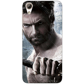Enhance Your Phone Wolverine Hugh Jackman Back Cover Case For HTC Desire 626