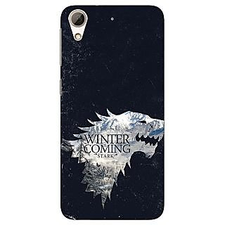 Enhance Your Phone Game Of Thrones GOT House Stark  Back Cover Case For HTC Desire 626